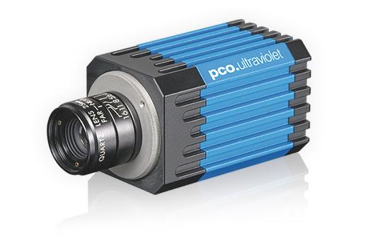 pco.ultraviolet UV sensitive CCD camera system left front image