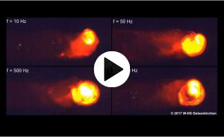 pco.dimax electron beam welding